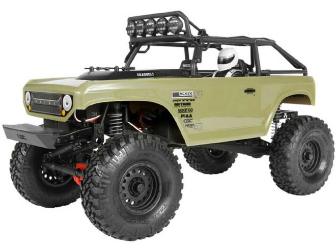 Axial AX90066 SCX10 II Deadbolt 1/10th Scale Electric 4WD - RTR